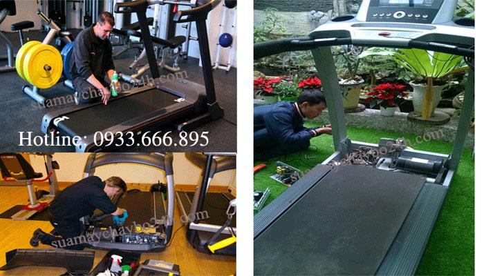 sửa máy chạy bộ tại quận ba đình