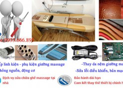 sửa giường massage