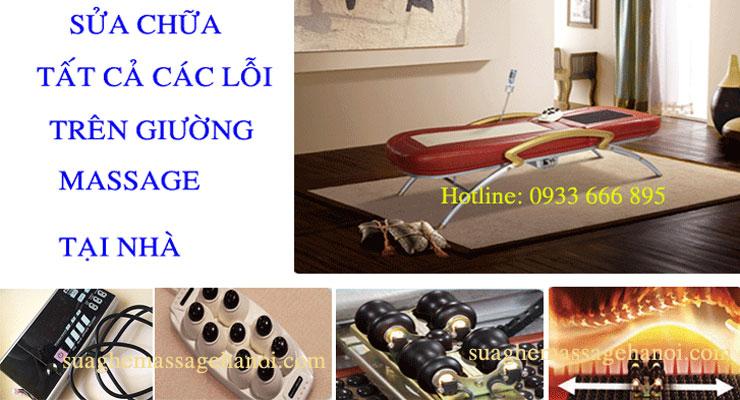 sửa giường massage tại hà nội
